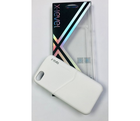 FUNDA X-LEVEL ENJOY CARD WHITE IPHONE 7, 7 PLUS, 8, 8 PLUS, I XS