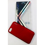 FUNDA X-LEVEL ENJOY CARD WINE RED