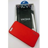 FUNDA X-LEVEL VINTAGE CHINA RED iPhone 6, 6 PLUS, 7, 7 PLUS, 8, 8 PLUS, XR, XS I XS MAX