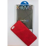 FUNDA X-LEVEL VINTAGE RED iPhone 6, 6 PLUS, 7, 7 PLUS, 8, 8 PLUS, XR, XS I XS MAX